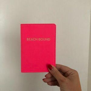 Accessories - Beach Bound Pink Passport Cover ✈️🏖